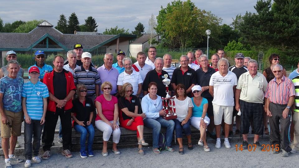 Petanque Ardennes Concours 14 juillet 2015 Prix les Mezieres