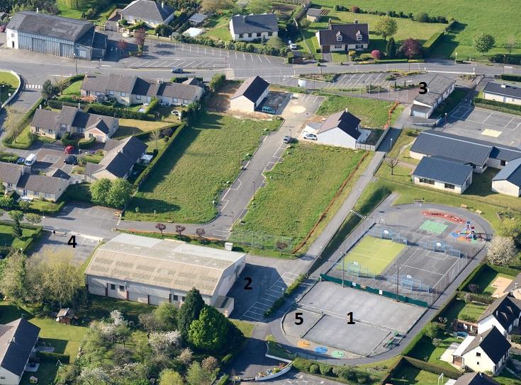 Photographie aérienne du pirisien Jean Michel Benoit, que nous remercions